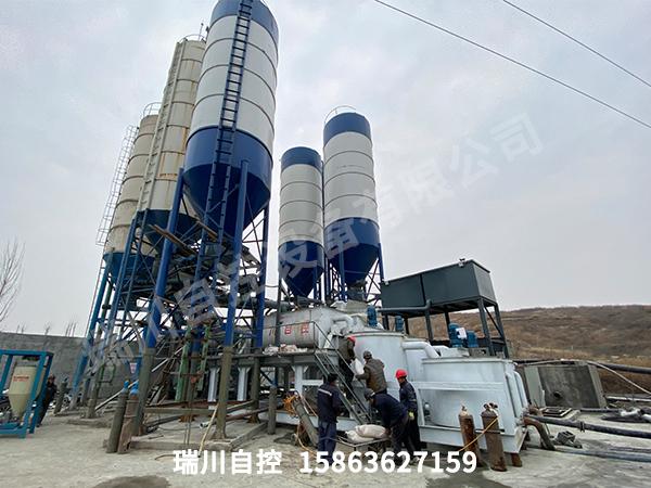 临沂铁矿超高水充填使用现场