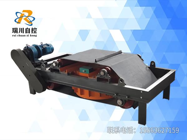 电磁自卸式除铁器调试完成准备发货