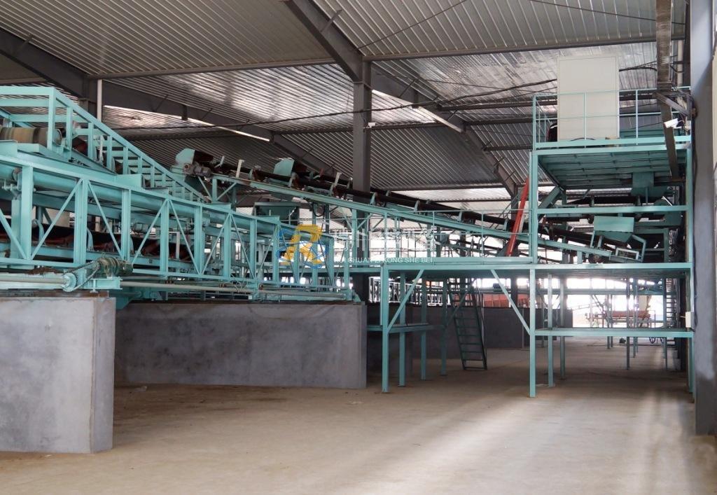 粉末有机肥配料生产线