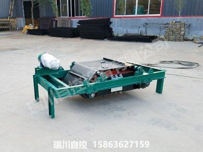 风冷电磁自卸式除铁器测试发货