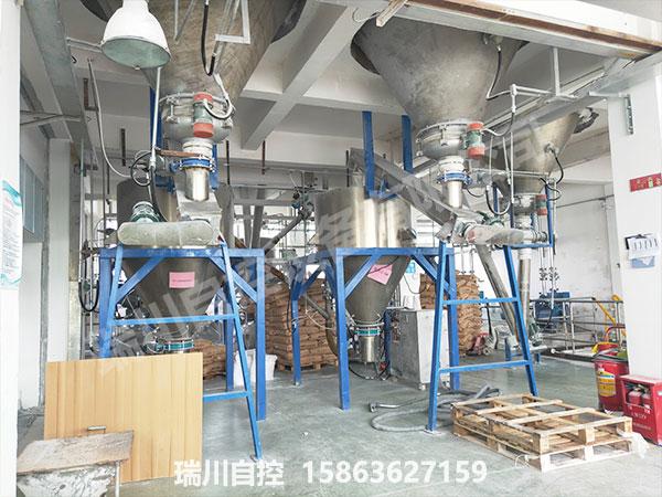 耐火材料和摩擦材料配料系统