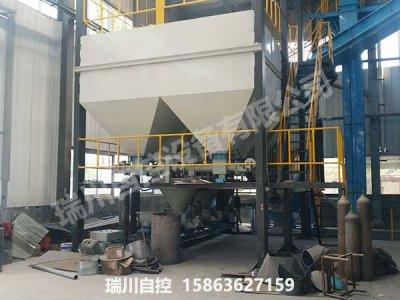 玻璃自动配料生产线
